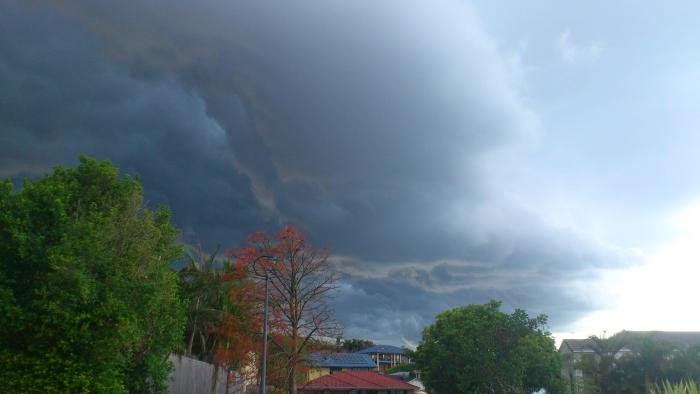 Hail Storm On It's Way