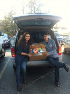 Car Load FULL of Donated Items