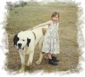 As A Child With The Family Dog