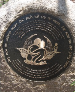"The Stolen Generations ""Journey Home"" Plaque"